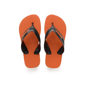 havaianas Max sandaalit Lapset, steel grey/neon orange